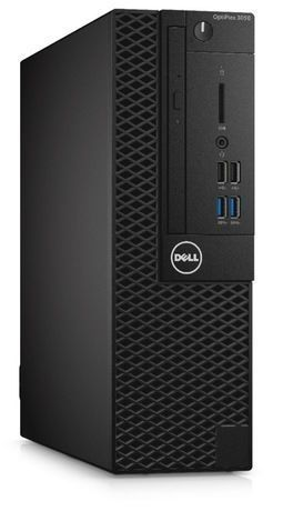 Компьютер DELL Optiplex 3050, Intel Core i5 6500, DDR4 8Гб, 256Гб(SSD), Intel HD Graphics 530, DVD-RW, Windows 10 Professional, черный [3050-2523] компьютер dell optiplex 7050 intel core i5 6500t ddr4 8гб 1000гб intel hd graphics 530 windows 10 professional черный [7050 2592]