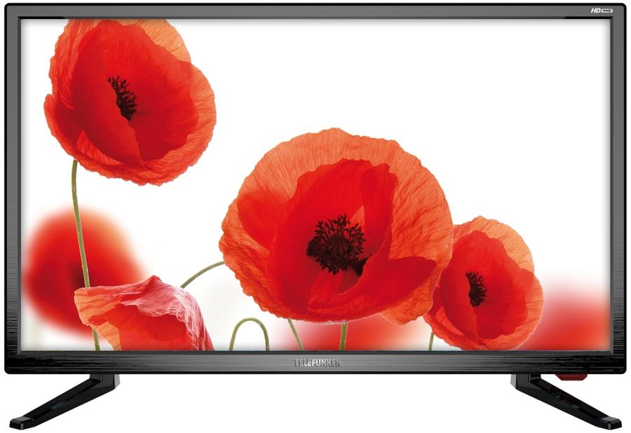 "LED телевизор TELEFUNKEN TF-LED24S37T2  ""R"", 23.6"", HD READY (720p),  черный"