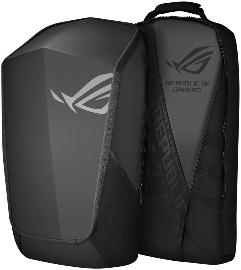 "Рюкзак 17"" ASUS ROG RANGER 2-IN-1, черный [90xb0310-bbp120]"