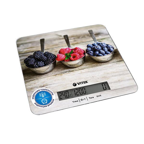 Купить Весы кухонные VITEK VT-2429, бежевый/рисунок в интернет-магазине СИТИЛИНК, цена на Весы кухонные VITEK VT-2429, бежевый/рисунок (1033978) - Москва