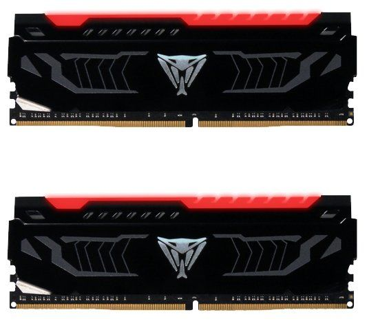Модуль памяти PATRIOT Viper LED PVLR416G266C5K DDR4 -  2x 8Гб 2666, DIMM,  Ret