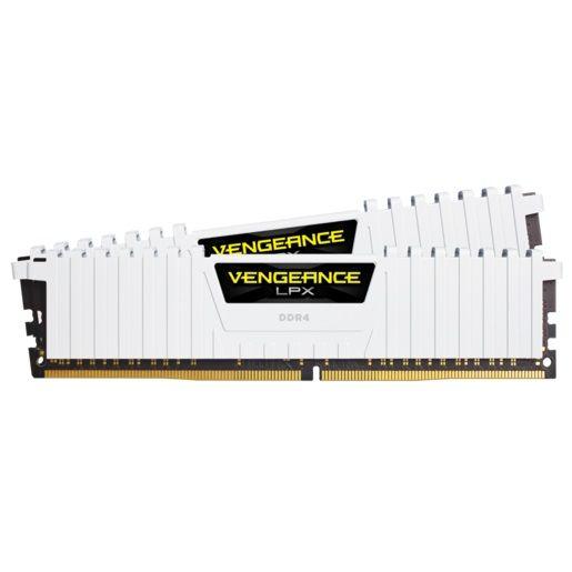 Модуль памяти CORSAIR Vengeance LPX CMK16GX4M2B3000C15W DDR4 -  2x 8Гб 3000, DIMM,  Ret