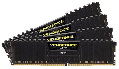 Модуль памяти CORSAIR Vengeance LPX CMK32GX4M4Z3200C16 DDR4 -  4x 8Гб 3200, DIMM,  Ret