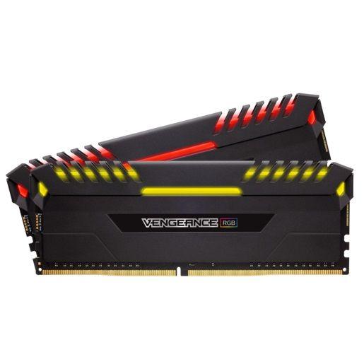Модуль памяти CORSAIR Vengeance RGB CMR16GX4M2D3200C16 DDR4 -  2x 8Гб 3200, DIMM,  Ret