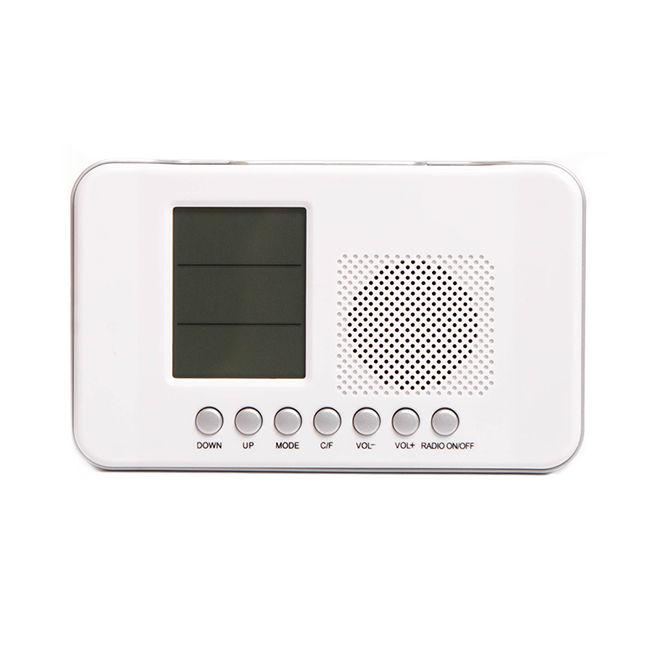 Радиоприемник СИГНАЛ CR-204,  белый