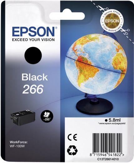 Картридж EPSON T266 черный [c13t26614010]