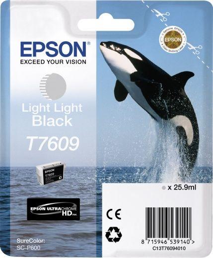 Картридж EPSON T7609, серый [c13t76094010]