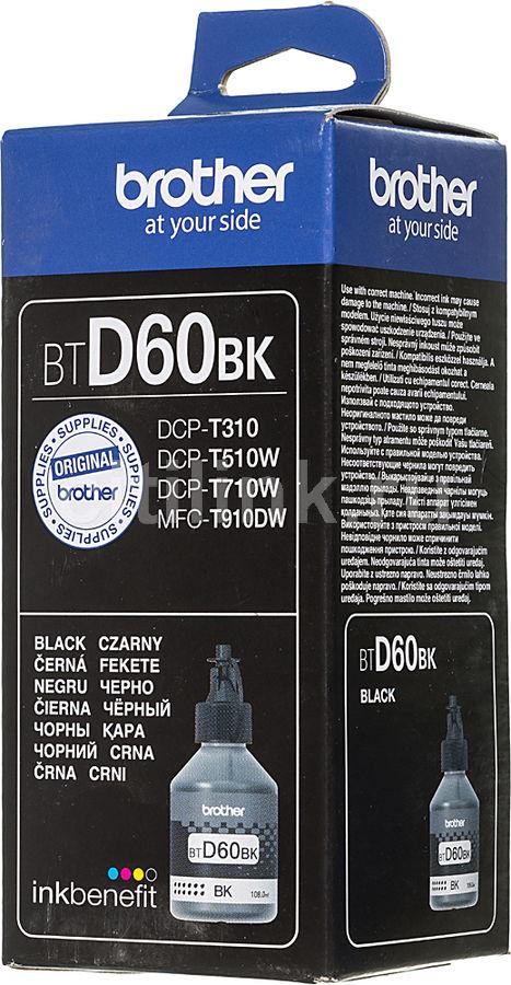 Картридж BROTHER BTD60BK, черный