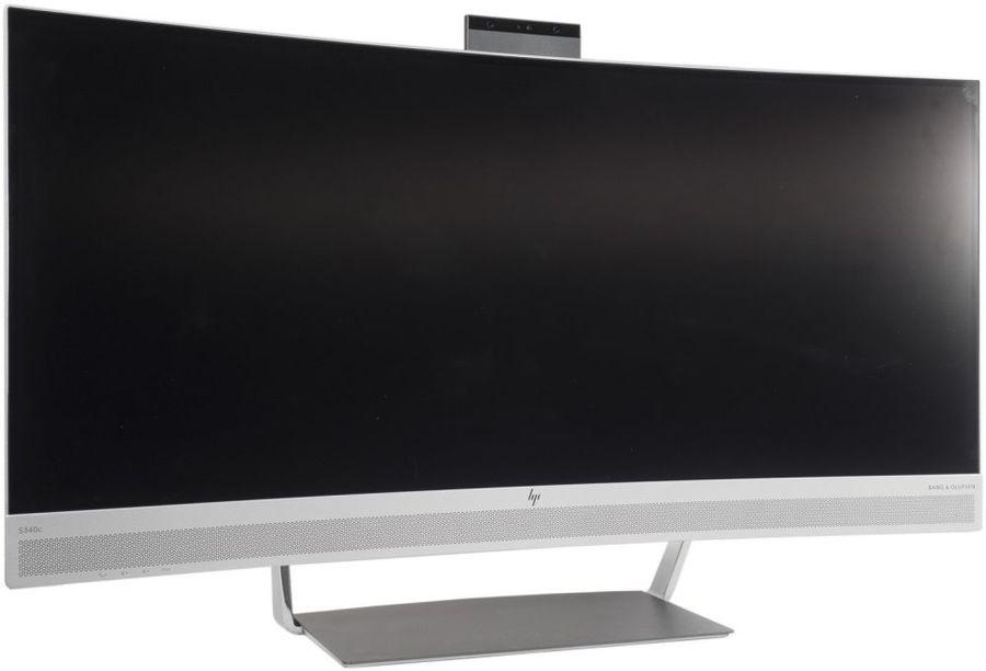 "Монитор HP EliteDisplay S340c 34"", серебристый [v4g46aa]"