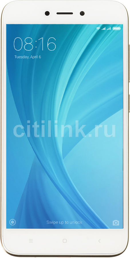 Смартфон XIAOMI Redmi 5A 16Gb, золотистый