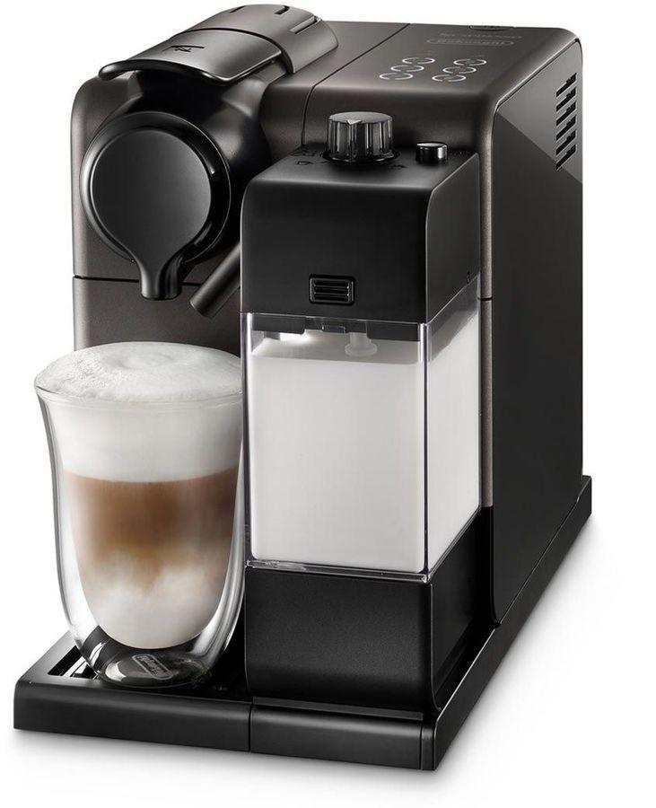 Капсульная кофеварка DELONGHI Lattissima Touch EN550.BM, 1400Вт, цвет: черный [0132193228]
