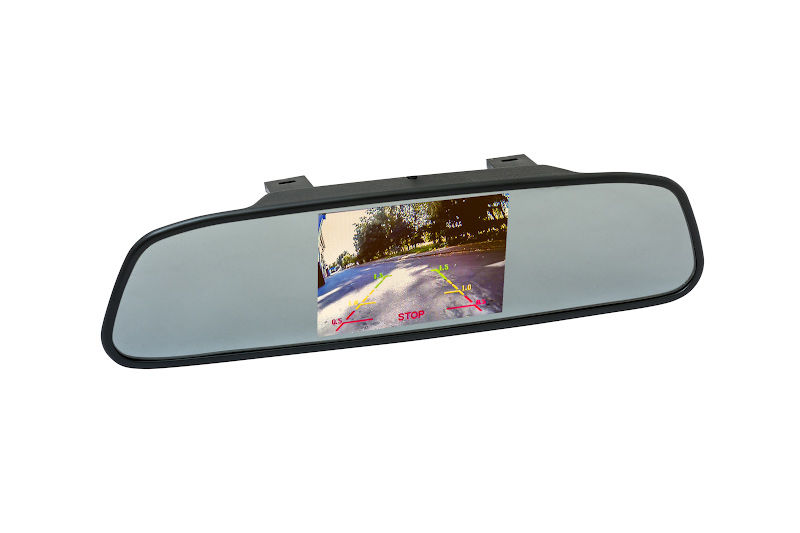 "Зеркало заднего вида с монитором Phantom RM-43 4.3"" 4:3 800x600 3Вт"