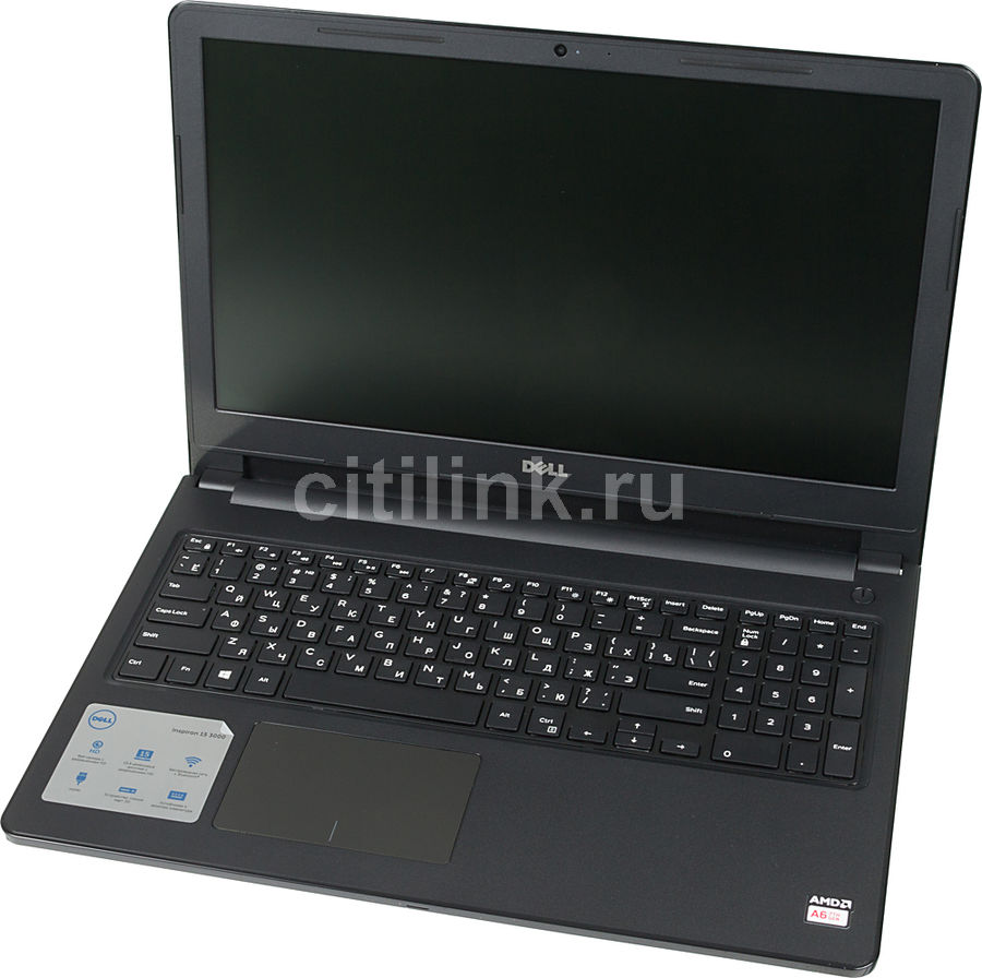 Ноутбук DELL Inspiron 3565, 15.6, AMD A6 9220 2.5ГГц, 4Гб, 1000Гб, AMD Radeon R4, DVD-RW, Linux Ubuntu, 3565-1962, черный ноутбук dell inspiron 3565 a6 9200 4gb 500gb dvd rw amd radeon r4 15 6 hd 1366x768 linux black wifi bt cam