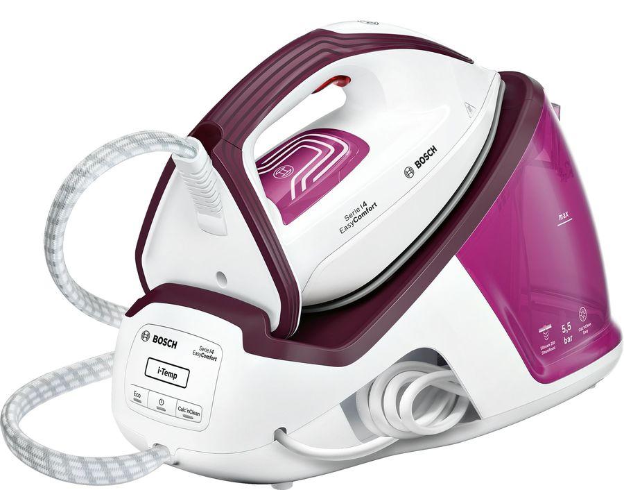 Паровая станция BOSCH TDS4020,  розовый / фиолетовый