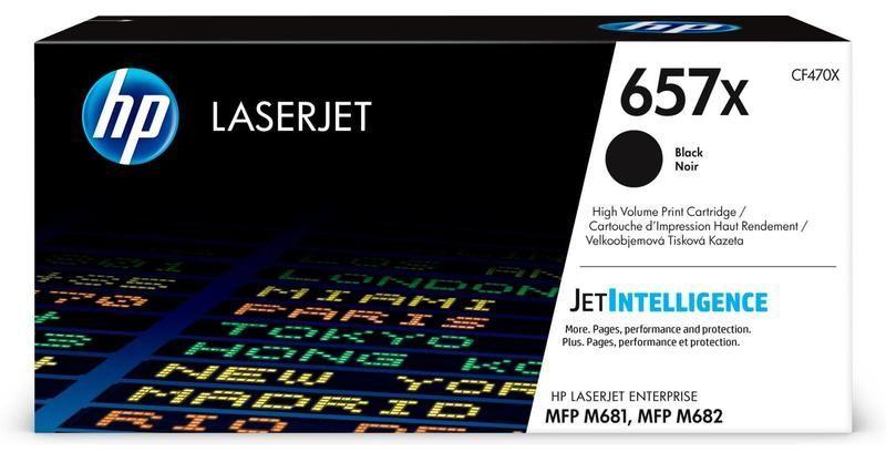 Картридж HP 657X, черный [cf470x]