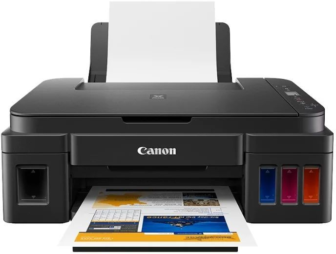 МФУ струйный CANON Pixma G2410, A4, цветной, струйный, черный [2313c009]