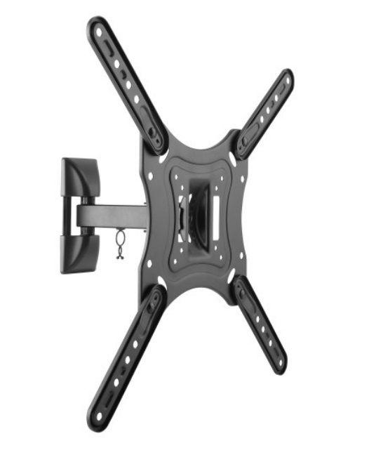 """Кронштейн для телевизора Ultramounts UM 868 черный 23""""-55"""" макс.35кг настенный поворот и наклон"""
