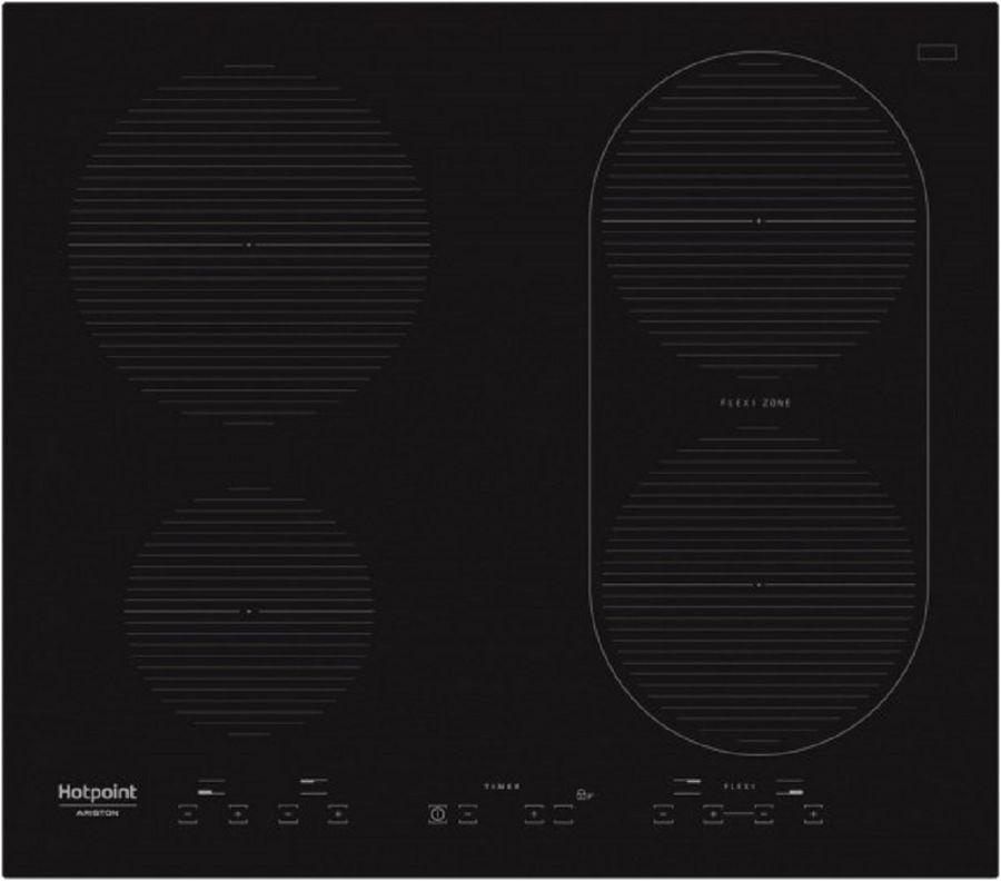 Индукционная варочная панель HOTPOINT-ARISTON IKID 641 B F,  индукционная,  независимая,  черный