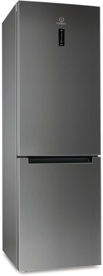 Холодильник INDESIT DF 5181 X M,  двухкамерный, серый
