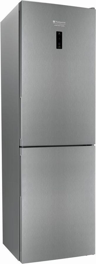 Холодильник HOTPOINT-ARISTON HF 5181 X,  двухкамерный, нержавеющая сталь