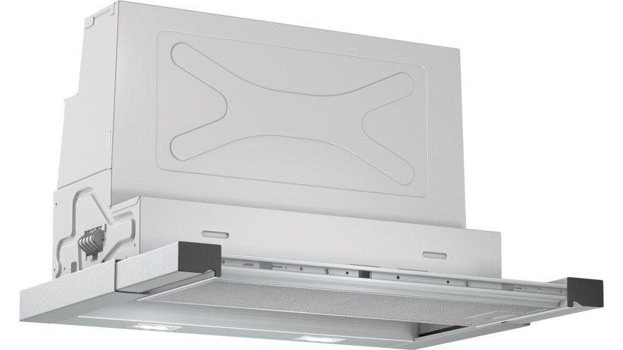 Вытяжка встраиваемая Bosch Serie 6 DFR067E51 серебристый управление: кнопочное (2 мотора)