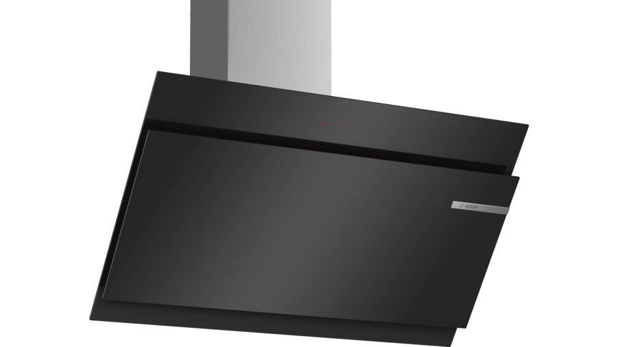 Вытяжка каминная Bosch Serie 6 DWK97JM60 черный управление: сенсорное (1 мотор)