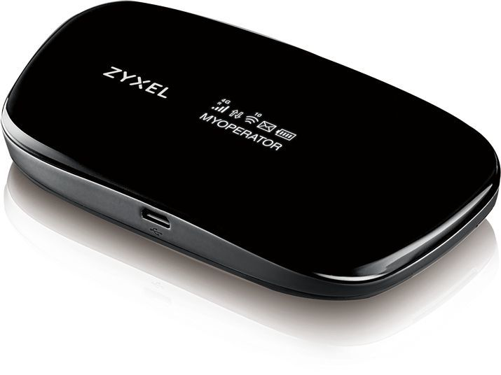 Беспроводной маршрутизатор ZYXEL WAH7608,  черный [wah7608-eu01v1f]