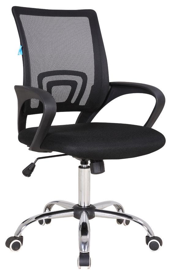 Кресло БЮРОКРАТ CH-695SL, на колесиках, ткань, черный [ch-695sl/black]