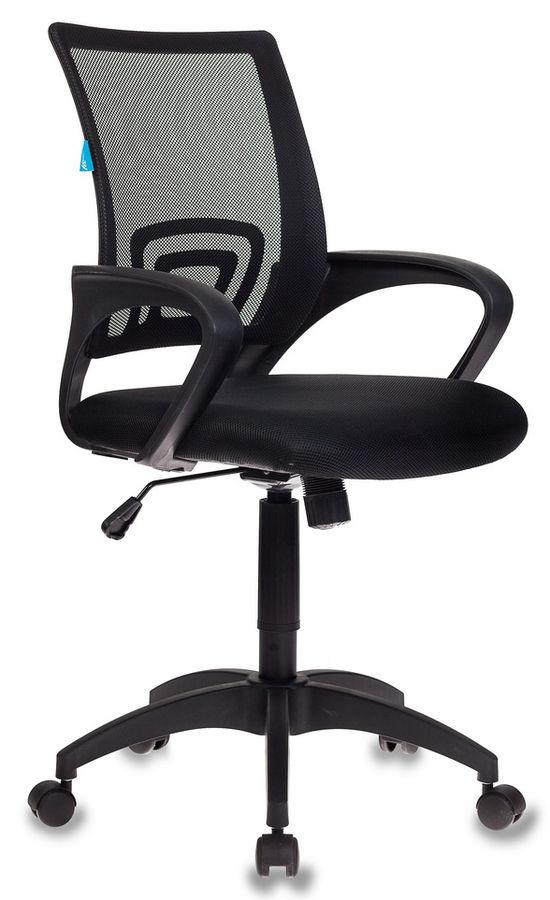 Кресло БЮРОКРАТ CH-695, на колесиках, ткань, черный [ch-695/black]