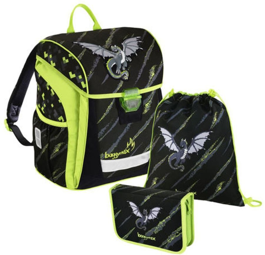 Ранец Step By Step BaggyMax Trikky Dragon 3 предмета