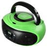 Аудиомагнитола HYUNDAI H-PCD260,  зеленый и черный вид 1