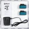 Дрель-шуруповерт BORT BAB-18x2Li-XDK,  1.5Ач,  с двумя аккумуляторами [91271501] вид 10