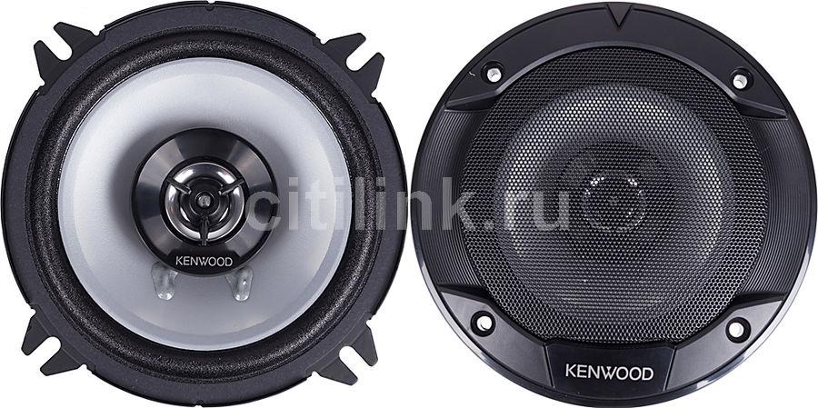 Колонки автомобильные KENWOOD KFC-S1366,  коаксиальные,  260Вт,  комплект 2 шт.