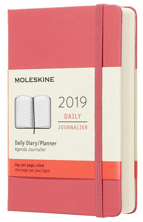 Ежедневник MOLESKINE Classic 400стр.,  розовый [dhd1112dc2]
