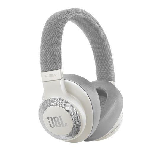 Наушники с микрофоном JBL E65BTNC, 3.5 мм/Bluetooth, накладные, белый [jble65btncwht]