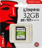 Карта памяти SDHC UHS-I U1 KINGSTON Canvas Select 32 ГБ, 80 МБ/с, 80X, Class 10, SDS/32GB,  1 шт. вид 1