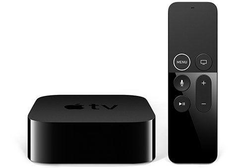 Медиаплеер APPLE TV 4K 64Gb,  64Гб черный