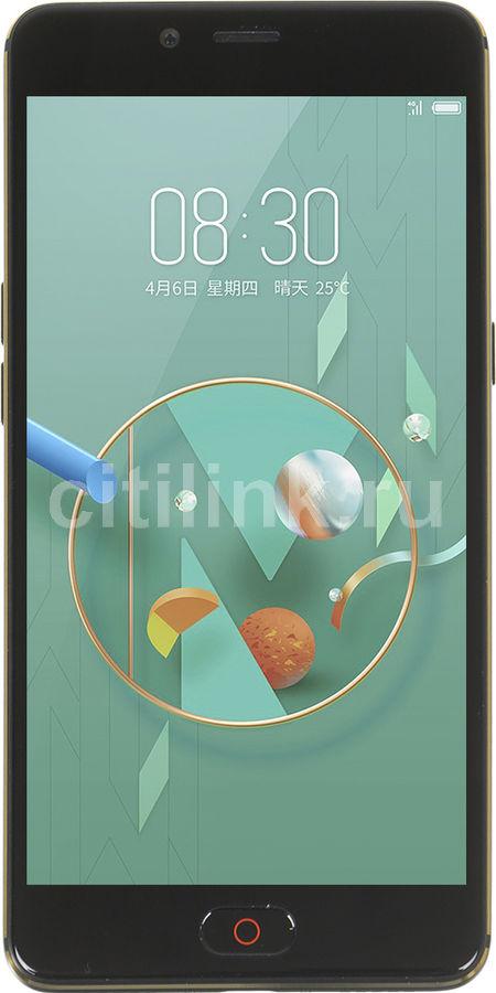 Смартфон NUBIA N2 64Gb,  черный/золотистый