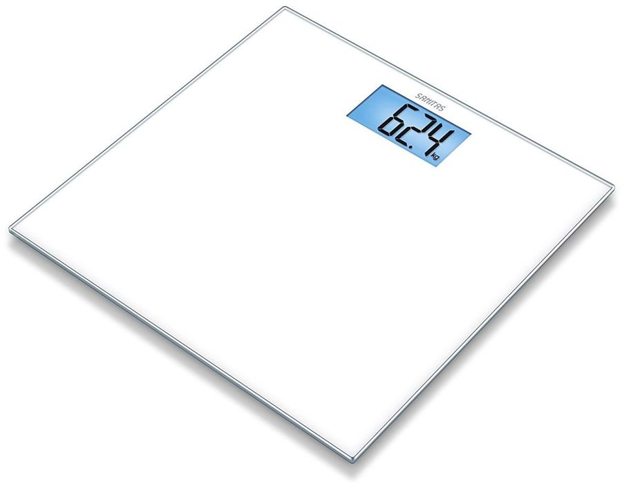 Напольные весы SANITAS SGS 03, до 150кг, цвет: белый [755.18]