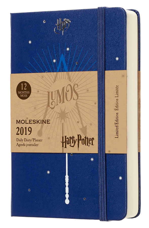 Ежедневник MOLESKINE Limited Edition HARRY POTTER, 400стр., синий [dhp12dc2]