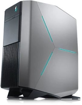 Компьютер DELL Alienware Aurora R7, Intel Core i7 8700, DDR4 16Гб, 2Тб, 256Гб(SSD), 2 х AMD Radeon RX 580 - 8192 Мб, Windows 10 Home, черный [r7-2327] моноблок dell xps 7760 intel core i7 7700 16гб 512гб ssd amd radeon rx 570 8192 мб windows 10 home серебристый [7760 2223]