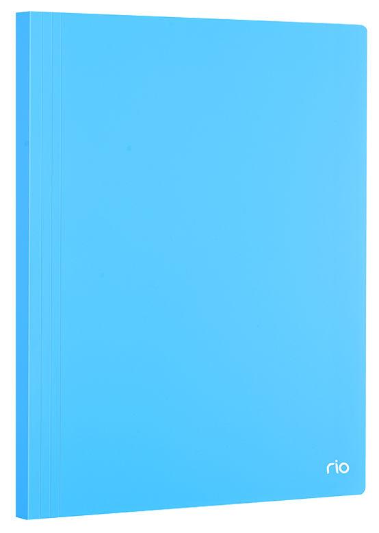 Папка с 100 прозр.вклад. Deli EB01002 A4 полипропилен 0.3мм ассорти