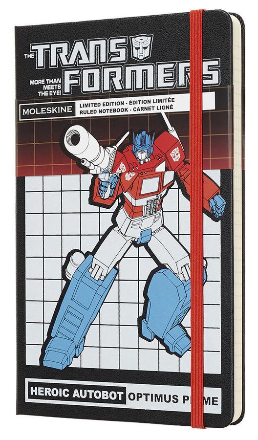 Блокнот Moleskine Limited Edition TRANSFORMERS Large 130х210мм 240стр. линейка OPTIMUS PRIME