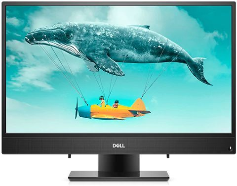 "Моноблок DELL Inspiron 3477, 23.8"", Intel Core i3 7130U, 4Гб, 1000Гб, Intel HD Graphics 620, Windows 10 Home, черный [3477-7154]"