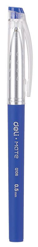 Ручка гелевая Deli EQ10630 Mate 0.5мм синие чернила синий