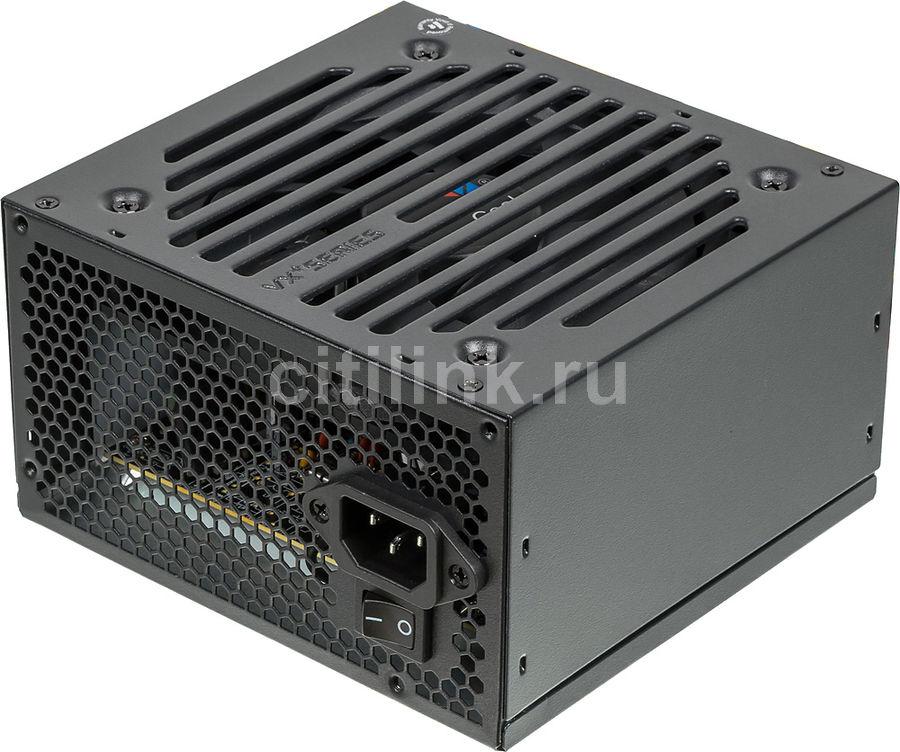 Блок питания AEROCOOL VX-550 PLUS,  550Вт,  120мм,  черный, retail
