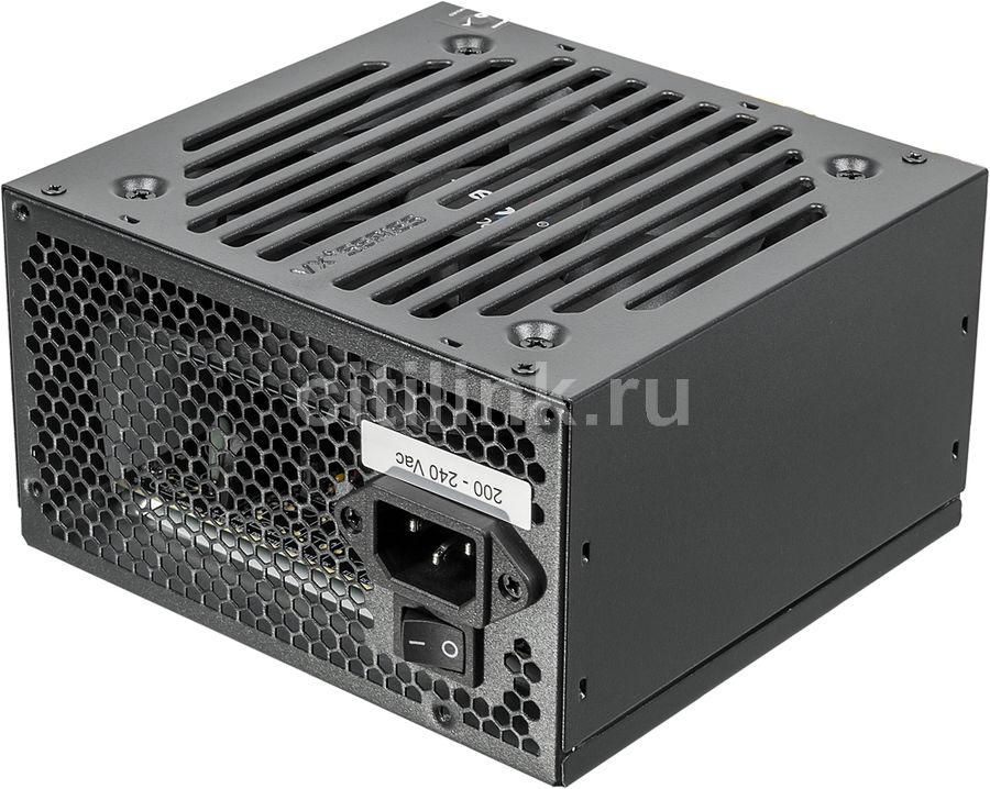 Блок питания AEROCOOL VX-600 PLUS,  600Вт,  120мм,  черный, retail