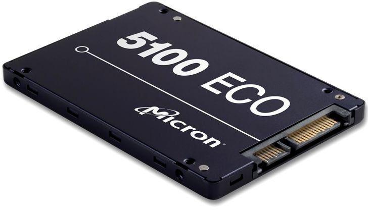 "SSD накопитель CRUCIAL Micron 5100ECO MTFDDAK1T9TBY-1AR1ZABYY 1.9Тб, 2.5"", SATA III"