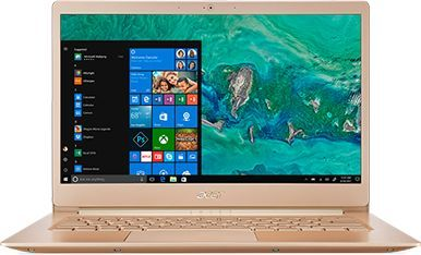Ультрабук ACER Swift 5 SF514-52T-89RF, 14, Intel Core i7 8550U 1.8ГГц, 8Гб, 512Гб SSD, Intel UHD Graphics 620, Windows 10, NX.GU4ER.001, золотистыйНоутбуки<br>экран: 14; cенсорный экран; разрешение экрана: 1920х1080; тип матрицы: IPS; процессор: Intel Core i7 8550U; частота: 1.8 ГГц (4.0 ГГц, в режиме Turbo); память: 8192 Мб, LPDDR3; SSD: 512 Гб; Intel UHD Graphics 620; WiFi;  Bluetooth; HDMI; WEB-камера; Windows 10<br><br>Линейка: Swift 5