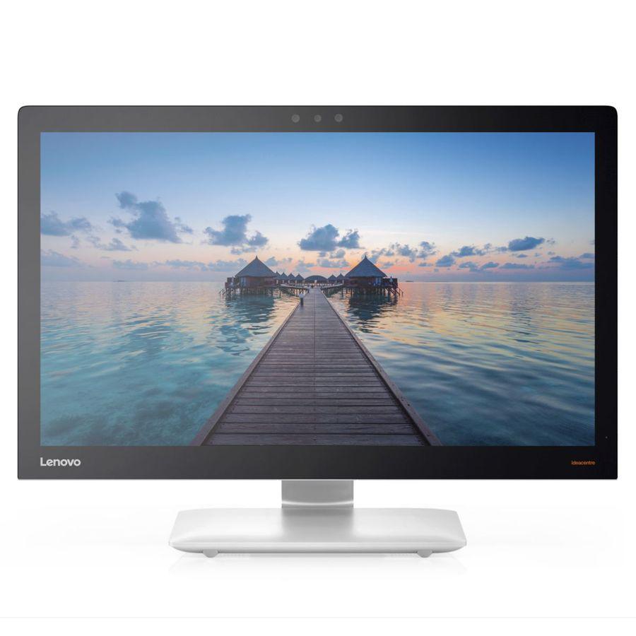 "Моноблок LENOVO IdeaCentre 910-27ISH, 27"", Intel Core i7 7700T, 8Гб, 1000Гб, 256Гб SSD,  NVIDIA GeForce GTX 940A - 2048 Мб, Windows 10, серебристый [f0c200acrk]"